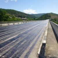 თბილისის შემოვლითი გზა –  კმ9  / მდ. გლდანულაზე ხიდის რეაბილიტაციის სამუშაოების  მიმდინარეობისას