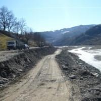 ალპანა-ცაგერი ს/გზა კმ1-კმ12 რეაბილიტაცია. მიწის ვაკისის აღდგენა ყრილის მოწყობით.