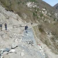ალპანა– ცაგერის/გზის 1–12კმ. რეაბილიტაცია. გზის საყრდენი კედლების მოწყობა. (eng)