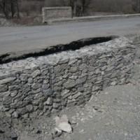 ჟინვალი–ბარისახლო–შატილის საავტომობილო გზის 17 კმ–ზე გზის საყრდენი კედლის მოწყობა (eng)