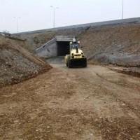 სვენეთი-რუსის მონაკვეთი ლოტი-2 მიწისქვეშა გასასვლელთან ადგილობრივი გზის მოწყობა.