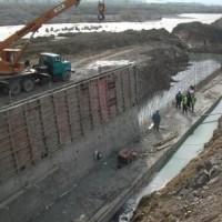 მდ.ლიახვზე სარეგულაციო კედლების მშენებლობა (eng)