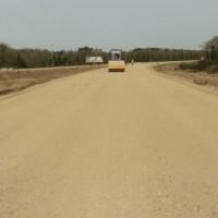 ქობულეთის შემოვლითი გზა/გზის საფუძვლის მოწყობის სამუშაოები