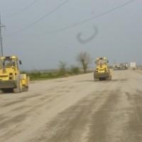 ქუთაისის შემოვლითი გზის მშენებლობა – გზის საფუძვლის მოწყობის სამუშაოები