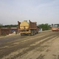 ქუთაისის შემოვლითი–სამტრედიის გზა/გზის საფუძვლის მოწყობის სამუშაოები