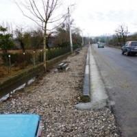 ნოქალაქევი-ლეძაძამე-დიდი ჭყონი კმ.7კმ.23,5 ბეტონის ბორდიურების მოწყობა